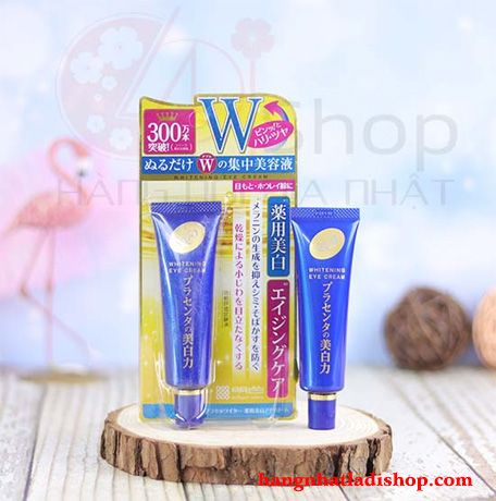 Kem mắt Meishoku whitening eye cream 30g