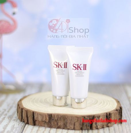 Sữa Rửa Mặt Mini SK-II FACIAL TREATMENT GENTLE CLEANSER 20g