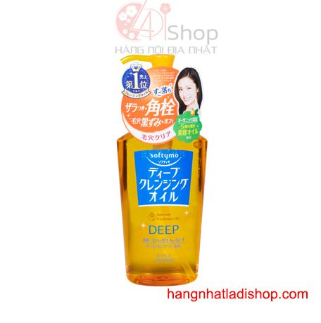 Dầu tẩy trang Kose Softymo Deep Cleansing Oil 230ml