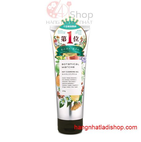 Gel tẩy trang Botanical Marche Hot Cleansing Gel 200g