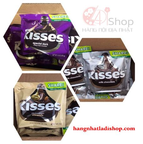 Kẹo Chocolate Hershey's Kisses 283g